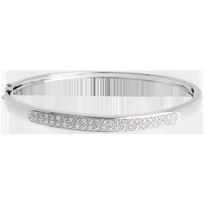 rivenditore online 765fd 24859 Bracciale rigido Diorama - Oro bianco - 18 carati - 23 Diamanti - 0.25  carati