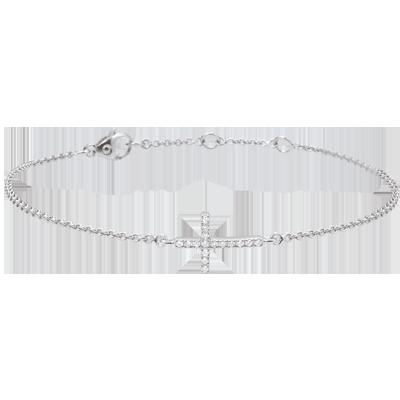 bracelet femme croix