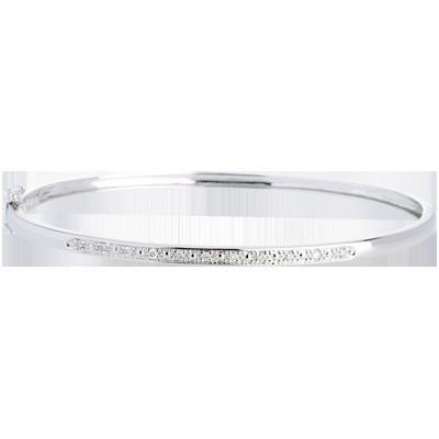 bracelet femme or blanc diamant