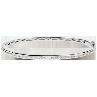 bracelet femme or blanc 18 carats