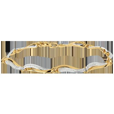 bracelet femme or jaune 18 carats