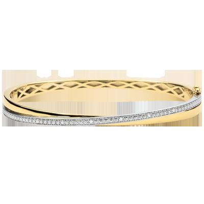 bracelet femme or jaune 9 carats