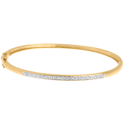 bracelet femme en or jaune 18 carats