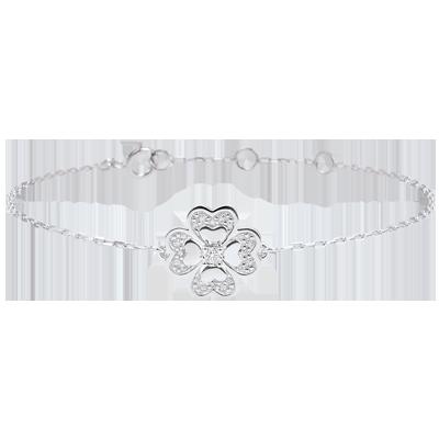 bracelet femme trefle