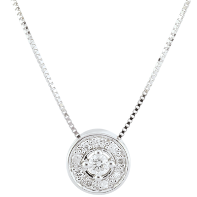 collier diamant png