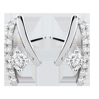 Erina Diamond Earrings 18 Carats